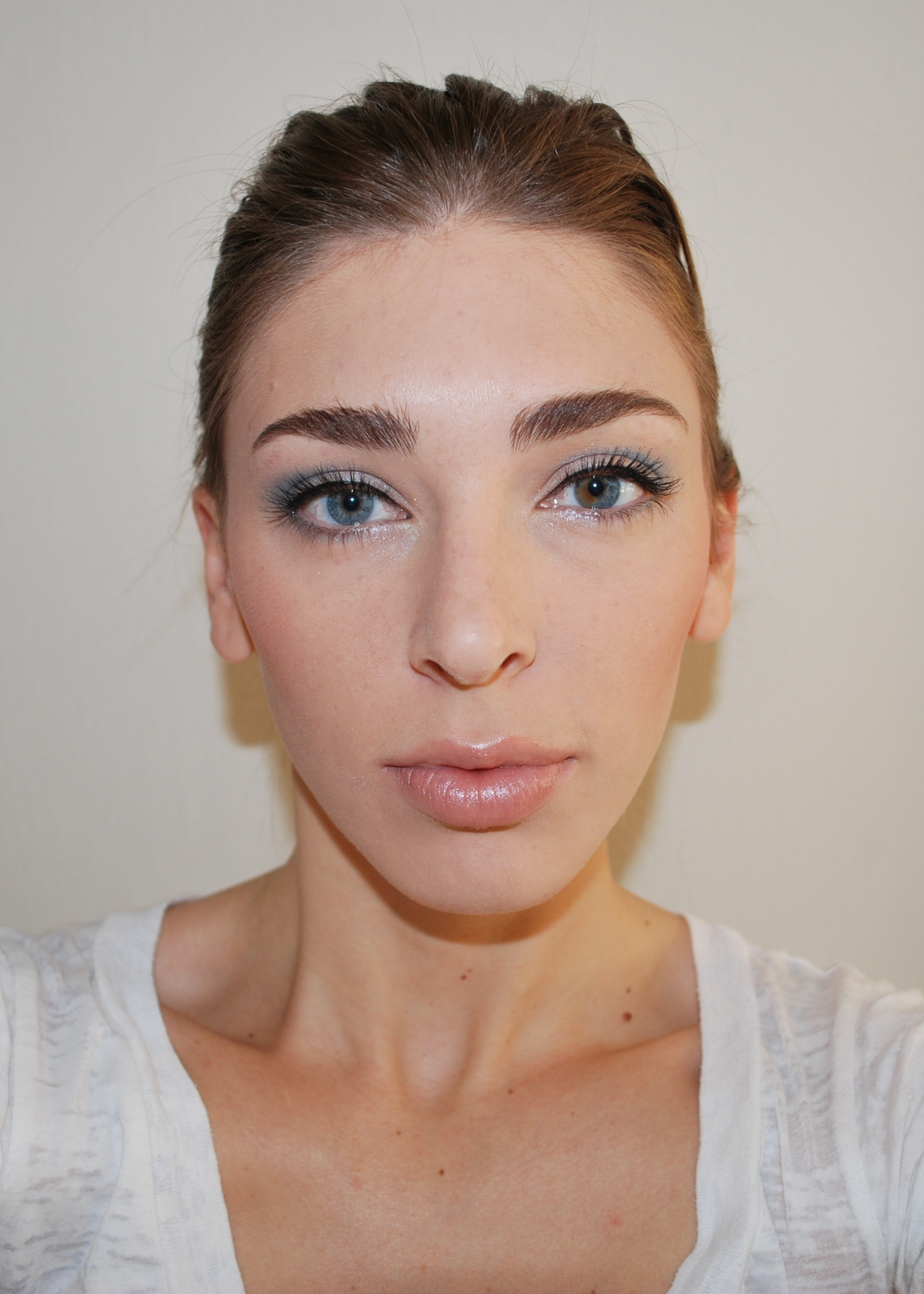 Beauty, blue, Makeup, Mac
