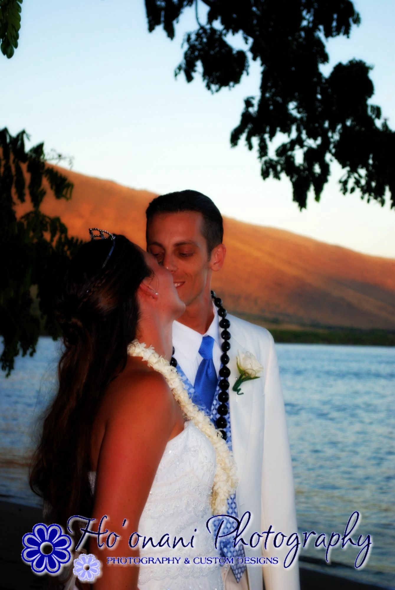 Ceremony, Reception, Flowers & Decor, Wedding Dresses, Fashion, orange, pink, red, blue, gold, dress, Wedding, Photos, Sunset, Lahaina, Hoonani photography, Olowalu