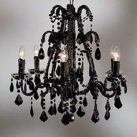 Ceremony, Flowers & Decor, black, Chandelier
