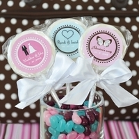 Reception, Flowers & Decor, Favors & Gifts, pink, blue, Favors, Personalized