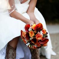 Flowers & Decor, Shoes, Fashion, orange, brown, Bride Bouquets, Bride, Flowers, Jacqueline photography, Flower Wedding Dresses