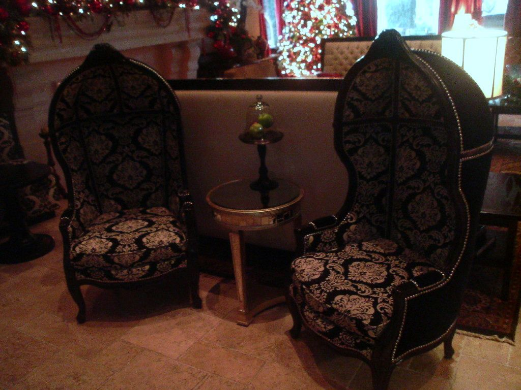 Ceremony, Reception, Flowers & Decor, black, Lobby, Damask, Inn, Westlake, Village