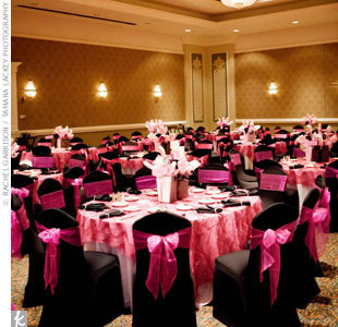 Inspiration, Reception, Flowers & Decor, pink, black, Bridal, Board, Shower, Glam events
