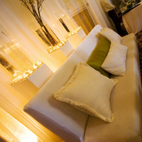 Reception, Flowers & Decor, white, yellow, green, gold, Lounge, inc, West coast event productions