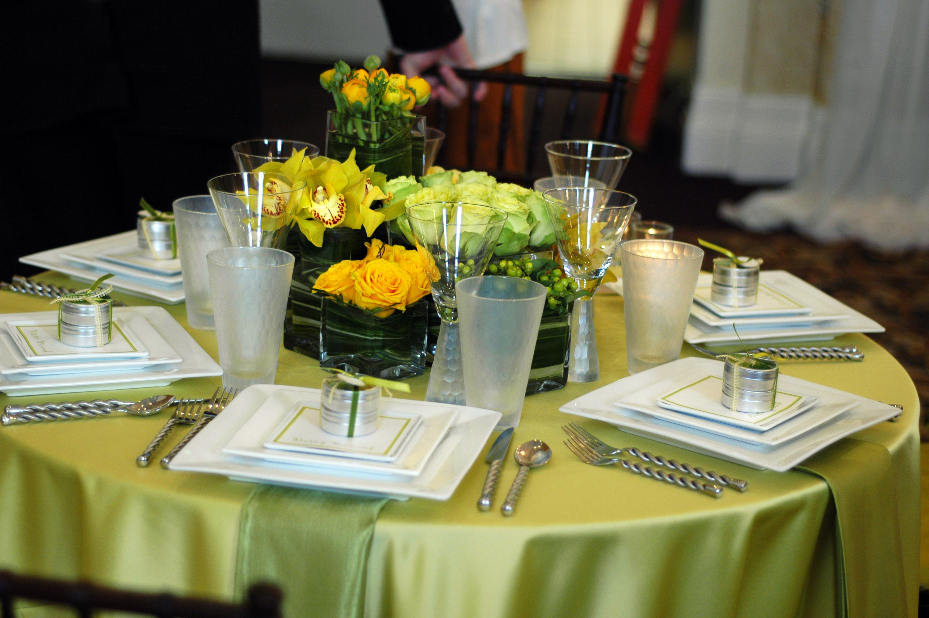 Reception, Flowers & Decor, green, Table, inc, Setting, West coast event productions