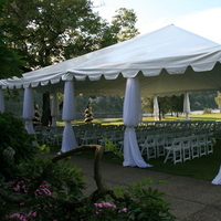 Ceremony, Flowers & Decor, white, Outdoor, inc, Tent, West coast event productions