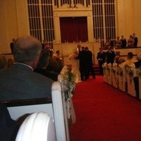Ceremony, Flowers & Decor, white, purple, Inman event planning