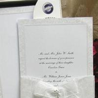 Stationery, white, Invitations, Do-it-yourself, Wedding invitations, The thank you company
