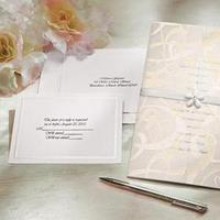 Stationery, white, Invitations, Do-it-yourself, Wedding invitations