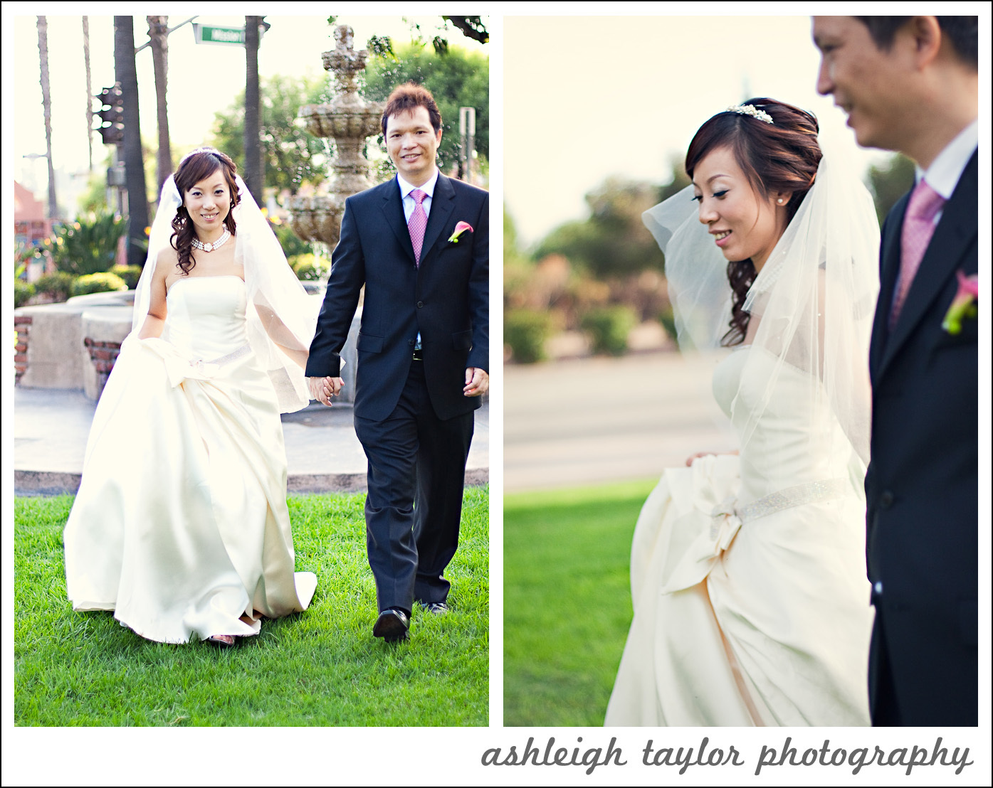 Bride, Groom, San, Mission, Gabriel, Ashleigh taylor photography