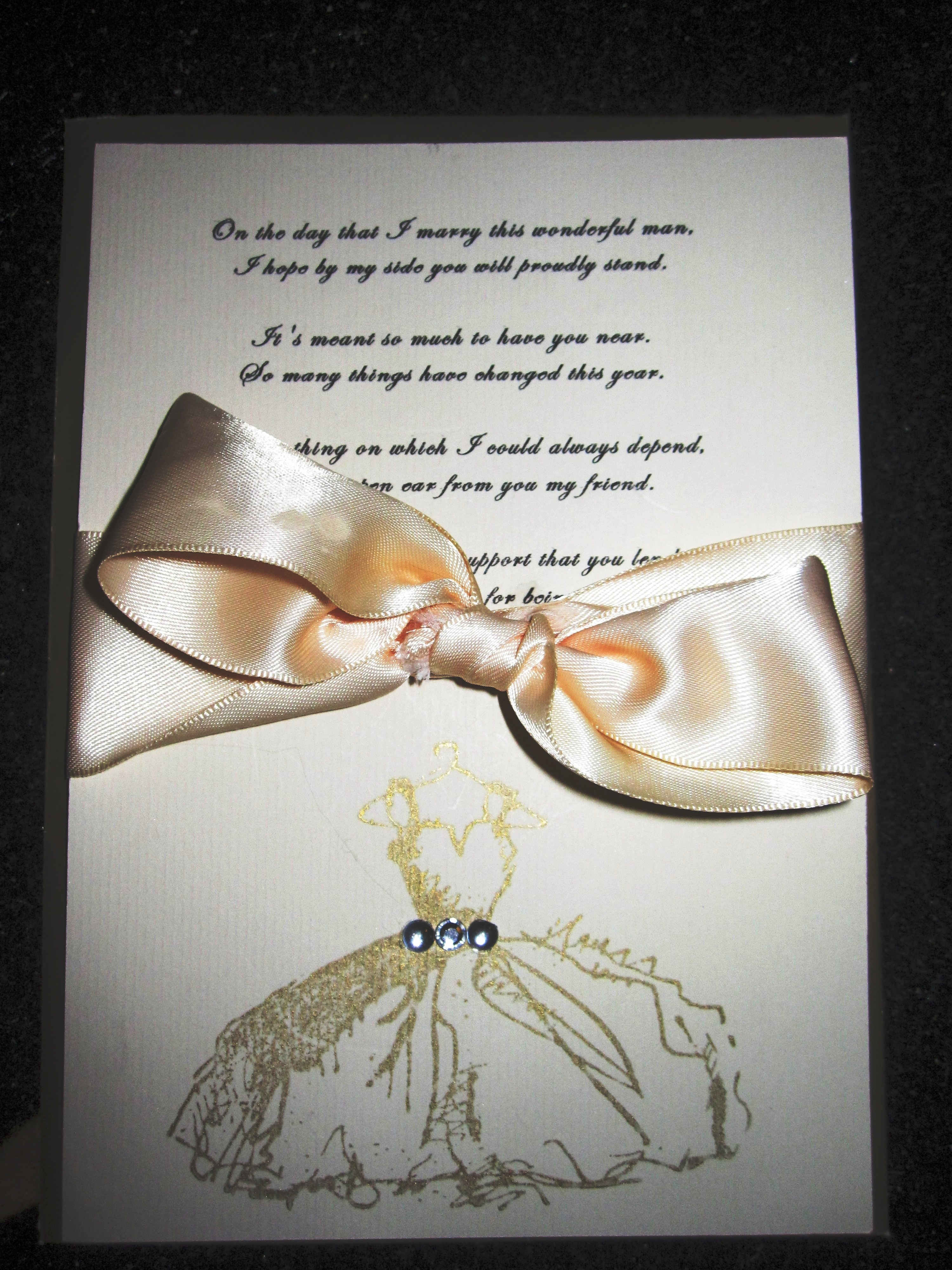 Bridesmaids, Bridesmaids Dresses, Fashion, gold, Card