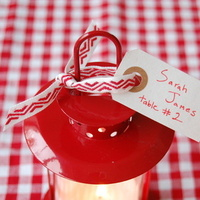 mini lantern escort cards