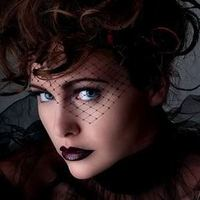 Beauty, Wedding Dresses, Veils, Fashion, black, dress, Veil, Hair, Birdcage, Triangular