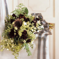 Flowers & Decor, white, green, brown, Bride Bouquets, Flowers, Bouquet