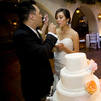 Beauty, Reception, Flowers & Decor, Cakes, cake, Makeup, Cake cutting, Eye makeup