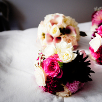Flowers & Decor, white, pink, red, Flowers