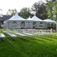 Ceremony, Reception, Flowers & Decor, silver, Tables & Seating, Arch, Chairs, Tent