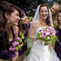 Beauty, Flowers & Decor, Bridesmaids, Bridesmaids Dresses, Wedding Dresses, Fashion, dress, Bride Bouquets, Bridesmaid Bouquets, Bride, Flowers, Hair, Kenny grill photography, Flower Wedding Dresses