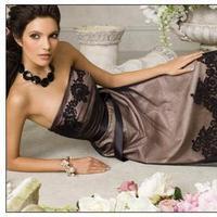 Bridesmaids, Bridesmaids Dresses, Wedding Dresses, Fashion, purple, black, dress