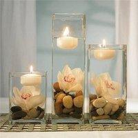 Reception, Flowers & Decor, white, brown, Centerpieces