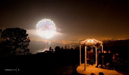 Ceremony, Flowers & Decor, white, silver, La venta inn, La, Venta, Beautiful, Fireworks