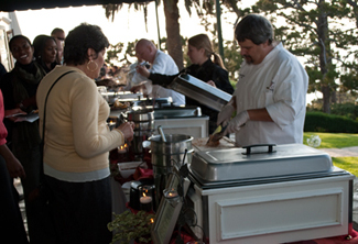 Catering, La venta inn, New york food company, Meal service, Buffet service