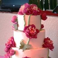 Cakes, pink, cake, Slice