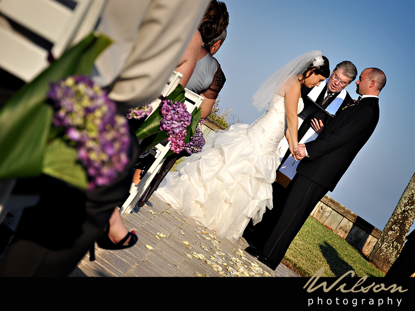 Ceremony, Flowers & Decor, purple, Wilson photography