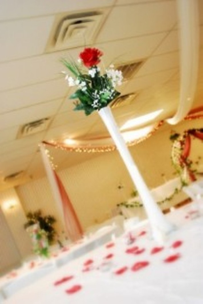 Ceremony, Reception, Flowers & Decor, white, yellow, orange, pink, red, purple, blue, green, brown, black, silver, gold, Ceremony Flowers, Centerpieces, Flowers, Centerpiece, Wedding, Vase, Elegant, Events, Tower, Eiffel, Elegant events decor
