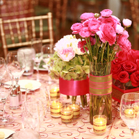 Reception, Flowers & Decor, pink, Centerpieces, Flowers, Centerpiece, Dahl wedding company