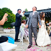 Ceremony, Flowers & Decor, pink, Summer, Bubbles, Outdoor, Aisle, Backyard, Poolside, Dzpvisuals