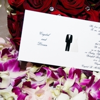 Flowers & Decor, Stationery, purple, black, silver, invitation, Bride Bouquets, Bride, Invitations, Flowers, Groom, Orchids, Decorations, Etc, Dendrobium, Soiree