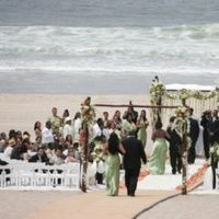 Ceremony, Flowers & Decor, green, gold, Beach, Food, Beach Wedding Flowers & Decor, Wedding, York, New, Company, Verandas, Manhattan