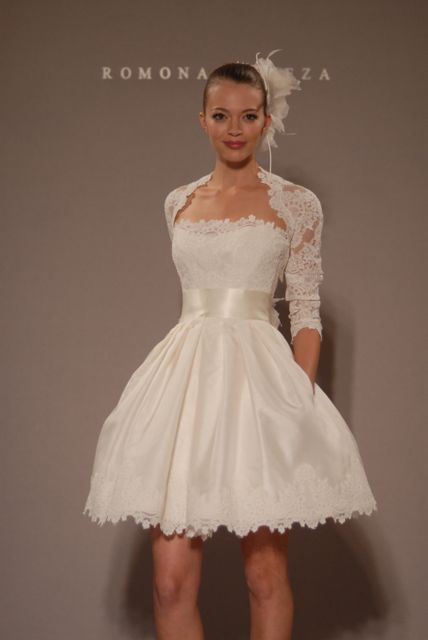 Wedding Dresses, Fashion, dress, Gown, Bridal, Short, Keveza, Romona, Short Wedding Dresses