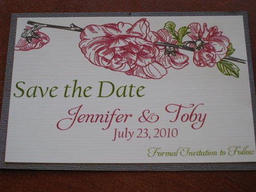 Stationery, Invitations, The, Save, Date, Peony, The stylish scribe