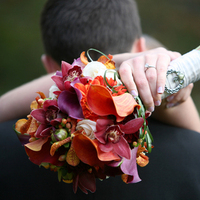 Flowers & Decor, yellow, orange, red, purple, green, brown, gold, Bride Bouquets, Flowers, Bouquet, Claddah, Studio laguna photography