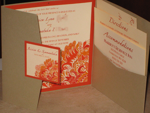 Stationery, Invitations, Pocketfold, Moroccan, The stylish scribe