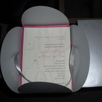 Stationery, silver, Invitations, Invites