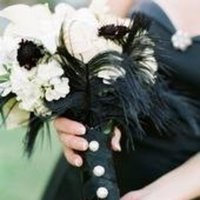 Flowers & Decor, black, Flowers