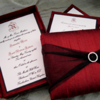 Stationery, white, red, black, Invitations, Calla graphics