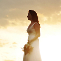 white, yellow, orange, red, gold, Bride, Sunset, Hour, Golden, Phinizy photgoraphy