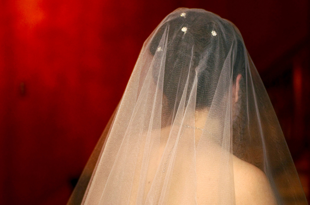Veils, Fashion, white, red, Veil, Bridal, Detail, Phinizy photgoraphy