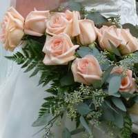 Ceremony, Flowers & Decor, pink, Ceremony Flowers, Flowers, Arm bouquet