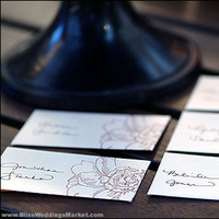 DIY, Stationery, Place Cards, Cards, Escort, Placecards, Blissweddingsmarketcom