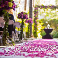 Ceremony, Flowers & Decor, pink, purple, green, Ceremony Flowers, Flowers, My wedding blooms