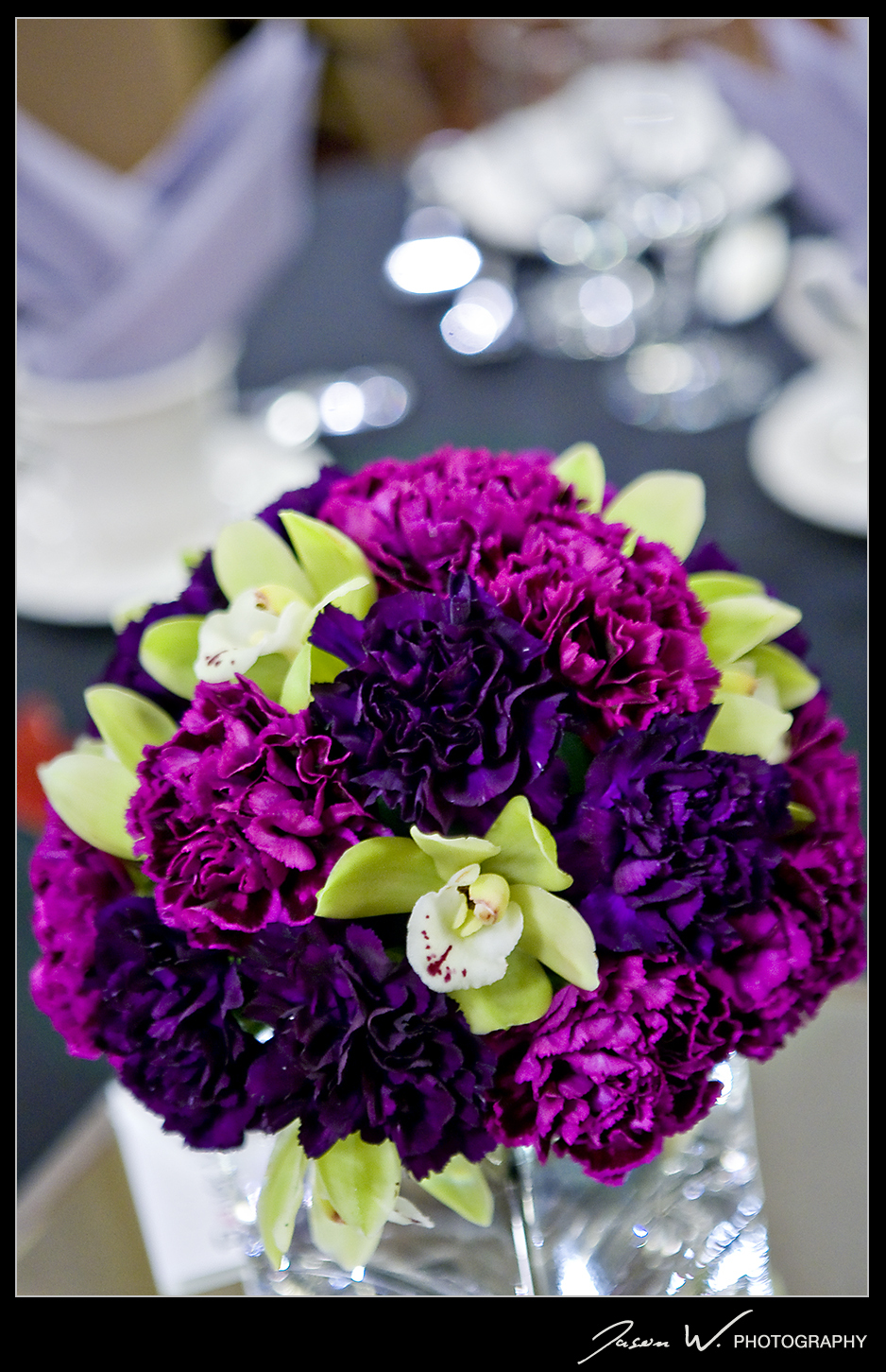 Vendors flower and paper project wedding