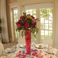 Flowers & Decor, pink, purple, Centerpieces, Flowers, Centerpiece