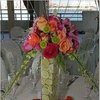 Reception, Flowers & Decor, Centerpieces, Tall