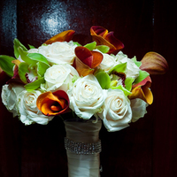 Flowers & Decor, orange, green, Bride Bouquets, Flowers, Bouquet, Bridal, Keishas kreations