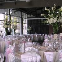 Flowers & Decor, white, pink, Centerpieces, Flowers, Centerpiece, The silver vase llc